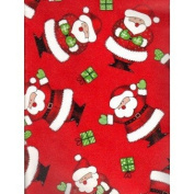 Happy Santas Christmas Gift Wrapping Paper -70cm x 9.1m Roll
