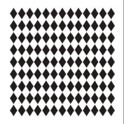 Pattern Stencil - Small Diamonds - 15cm x 15cm
