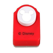 Red Paper Punch of Mickey Mouse Walking