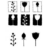 Joggles Stencil & Mask Combo-Botanicals 1