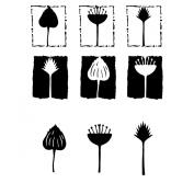 Joggles Stencil & Mask Combo-Botanicals 2