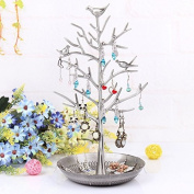 Eudaemonia life Beautiful Bird Tree Jewellery Stand Jewellery for Three Colour Choice Buy for Mom ,Girls and Dear Friends