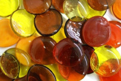 Glass Gems, 2.2kg. Bag, Fiery Colours