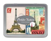 Cavallini Petite 12 Notes with 2-1/4 by 8.3cm Envelopes, Paris