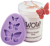 Wow Embossing Powder WOW! Silicone Mould, Butterfly Trio