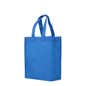 Reusable Gift / Party / Lunch Tote Bags - 25 Pack - Electric Blue