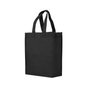 Reusable Gift / Party / Lunch Tote Bags - 25 Pack - Black