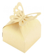 niceeshop(TM) Butterfly Baby Shower Party Wedding Favour Folding Box Package Candy Gift Boxes