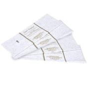 Gift Wrap Bag Tissue Paper White Foil Sequin Sparkle 40 Sheets 50cm x 50cm
