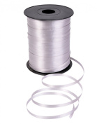 500 Yd. Silver Curling Ribbon 0.5cm Wide 50th Anniversary
