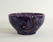 Ceramic Yarn Bowl Purple