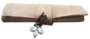 AM Landen® Suede Wrap Roll Up Make up Brush Case Pencil Bag case Storage Pouch