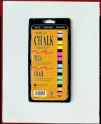Quartet 072759 Alphacolor Coloured Chalkboard Chalk, Assorted Colours, Set Of 12