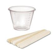 The Beading Emporium® 25 Disposable Resin Mixing Cups & Stir Sticks