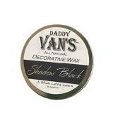 Daddy Van's All Natural Shadow Black Decorative Wax