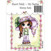 My-Besties Clear Stamps, Trixie Boo, 10cm by 15cm
