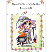 My-Besties Clear Stamps, Brew, 10cm by 15cm