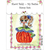 My-Besties Clear Stamps, Little Nellie Pumpkin, 10cm by 15cm
