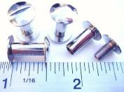 Chicago Screws 1.3cm Plain 50 Pcs Np Silver