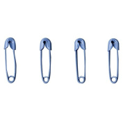 Artemio Mini Safety Pins 36/Pkg-Light Blue
