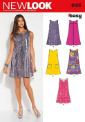 Simplicity Creative Patterns New Look 6125 Misses' Dress, A