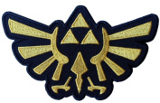 Legend of Zelda Hyrule's Royal Crest Gold Logo Patch