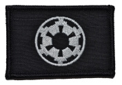 Galactic Empire Imperial Seal Star Wars 2x3 Military Patch / Morale Patch - Black