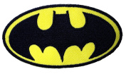 Batman Logo ~ Embroidered Iron On / Sew On Patch