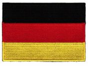 Germany Flag Embroidered Patch German Iron-On National Emblem