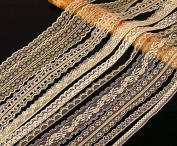20m of Asstd Cream Vintage Lace Bridal Wedding Trim Ribbon, Craft, Card Making