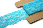 Stretch Lace Elastic - 10 Yards - 5.1cm Wide - Trim Lace for Headbands Garters