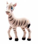 Baby Teether - Zeta Zebra teething toy - BPA Free - Organic Food Grade Silicone ♥
