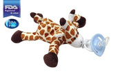 CuddlesMe Pacifier with Detachable Plush Giraffe, FDA Listed Medical Device