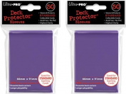 (100x) Ultra PRO Purple Deck Protectors Sleeves Standard MTG Colours