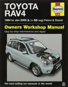 Toyota RAV4 Petrol & Diesel Service and Repair Manual