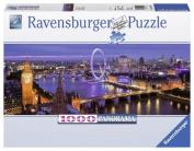 London at Night 1000 Piece Panorama Puzzle