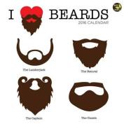 I Heart Beards Calendar