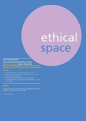 Ethical Space Vol.12 Issue 1
