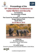 Iccws 2015 - The Proceedings of the 10th International Conference on Cyber Warfare and Security