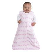 HALO SleepSack 100% Cotton Wearable Blanket, Pink Jungle Line, Large
