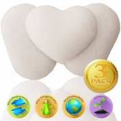 Konjac Sponge (3 Pack) - Baby Bath Sponges for Babies and Sensitive Skin - For Face & Body