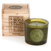 Archipelago Botanicals Oakmoss & Wood Wooden Boxed Candle