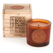 Archipelago Botanicals Wooden Boxed Candle Amber & Cedarwood
