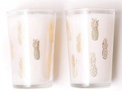 Rosie Jane Tropical Holiday Candle & Glass Set