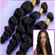 Art of Love 5a Malaysian Virgin Human Hair Extension Loose Wave 3pcs/lot 300gram Natural Colour