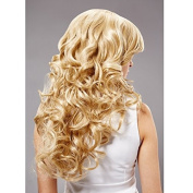 Enjoydeal New Arrival Women Girls 60cm Long Blonde Wavy Curly Cosplay Party Wig