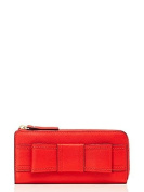 Kate Spade New York Nisha Leather Wallet Empire Red