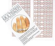 New UK Ring Sizer Finger Gauge Sizing Engagement Ring Size + INTERNATIONAL CHART