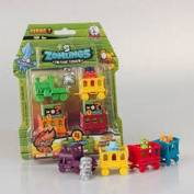 Zomling Series 3 - Blister Pack (inc. 1 Train, 3 Waggons, 3 Zomlings, 1 Rare Zomling) RANDOM PACK SUPPLIED