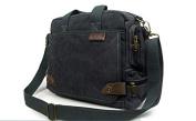 Outdoor Peak Mens canvas bag work travel Briefcase Laptop Satchel Shoulder Messenger Bag for 36cm Laptop